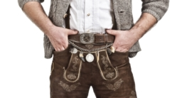 Lederhose richtig tragen