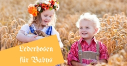 Lederhosen Babys