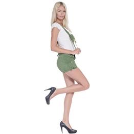 Damen Trachten Lederhose hellgrün 2335G36 - 1
