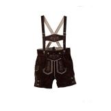 Isartrachten Baby Jungen Trachten kurze Lederhose (80) - 1